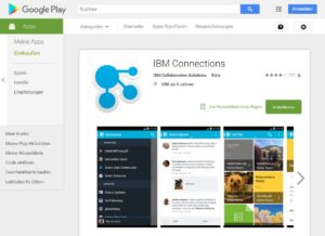 IBM Connections – Android-Apps auf Google Play